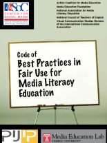 Code Best Practices Media Lit Fair Use